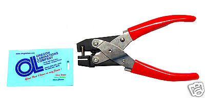 Heavy Duty Badge Slot Hole Punch Hand Held for ID Cards [New]