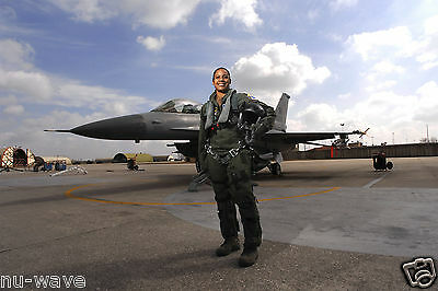 Maj Shawna R. Kimbrell 555th Fighter-First African American Female fighter Pilot