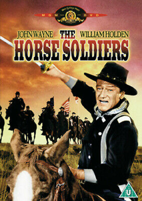The Horse Soldiers DVD (2004) John Wayne, Ford (DIR) cert U Fast and FREE P & P