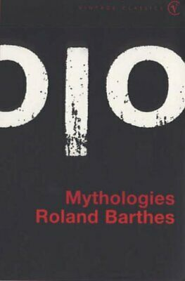 Mythologies (Vintage classics) by Barthes, Roland Paperback Book