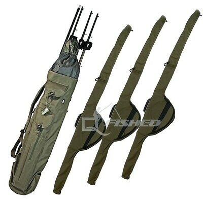 Quiver Rod Holdall With 3 Single Rod Sleeves Carp Fishing Tackle