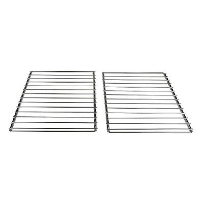 2x Extendable Grill Oven Shelf Rack Screw Fix Arm Adjustable For Belling Cooker