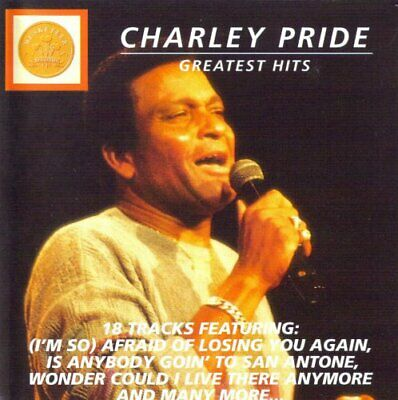 Charley Pride Greatest Hits CD Value Guaranteed from eBay's biggest seller!