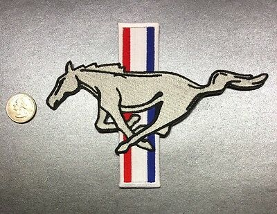 """Ford Mustang Shelby Saleen SVT Pony Patch Muscle Car Hot Rod 5"""" X 7"""""""