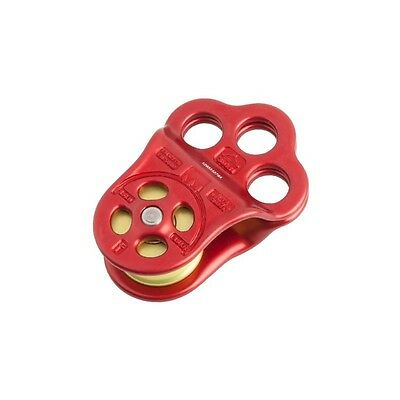 Triple Attachment Pulley PUL100 DMM Red,