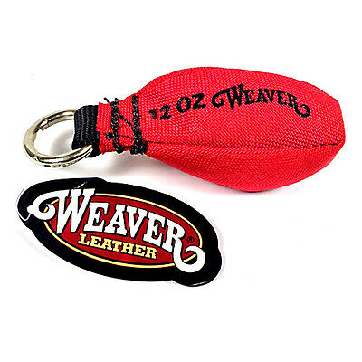 Weaver 12 oz Arborist Throw Weight Cordura Red 0898318RD 08-98318-RD Bag Rigging