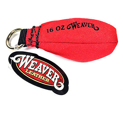 Weaver 16 oz Arborist Throw Weight Cordura Red Bag Rigging 0898320RD 08-98320-RD