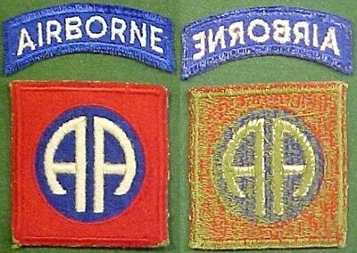 WW2 82nd Airborne Infantry Division Greenback Patch