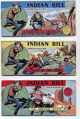 Indian Bill Collection complète Éditions des Remparts 1958