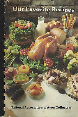 *national Avon Collectors 1985 Vintage Cook Book Our Favorite Recipes Naac Clubs