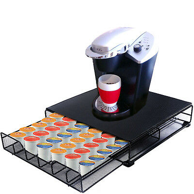 36 Coffee Pod Holder Storage Drawer for Keurig K-cup Dolce Gusto Machine Stand