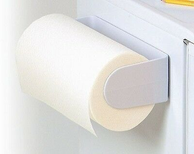 Spectrum Diversified 40500 White Magnetic Paper Towel Holder MODEL NO. 40500 NEW