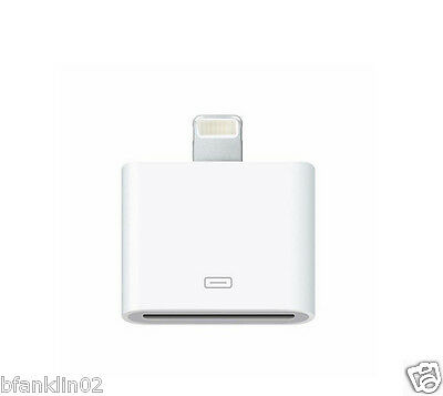 Lightning 30 Pin To 8 Pin Sync Charger Adapter Dock For Apple iPhone 5/6 iPad