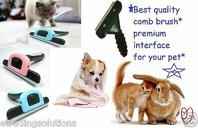Pet Dog Cat Hair Fur Shedding Trimmer Grooming Rake Professional Comb Brush*comb