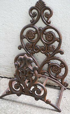 Fancy Iron Garden Hose Holder Wall Hose Hanger Reel by UD FREE SHIPPING NEW.....