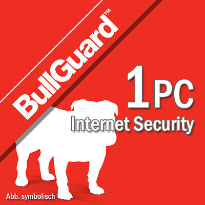Bullguard Internet Security 2018 1 PC 12 Months License PC 1 user 2017
