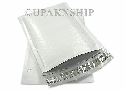 50 #6 Poly Bubble Mailers Plastic Envelopes 12.5x19 Air Jacket Brand