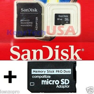 32GB SD Memory Stick MS Pro Duo Memory Card 32 GB FOR Sony PSP Cybershot Camera