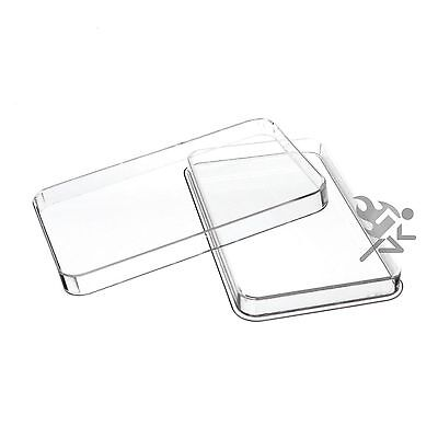 10oz Silver Bar Direct Fit Air-Tite Capsule Holders 10 Pack