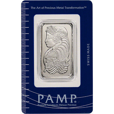 1 oz. Palladium Bar - PAMP Suisse - Fortuna - 999.5 Fine in Sealed Assay