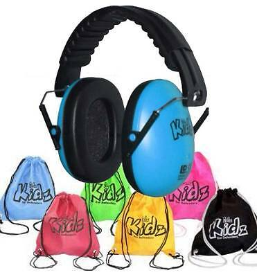 EDZ KIDZ Ear Muffs for babys kids 6 mths - 16 yrs ORANGE + Bag -  FREE SHIPPING!