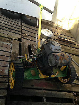 1930's Moto Mower power lawnmower vintage