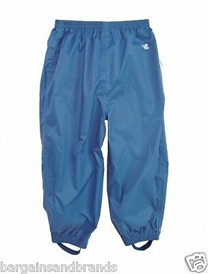 Muddy Puddles PuddlePac Blue Waterproof Over Trousers 11-12 Years 110329