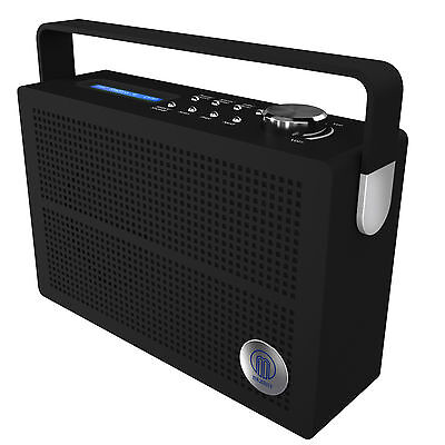 Majority Newnham DAB FM Digital Portable Radio With Rechargeable Battery
