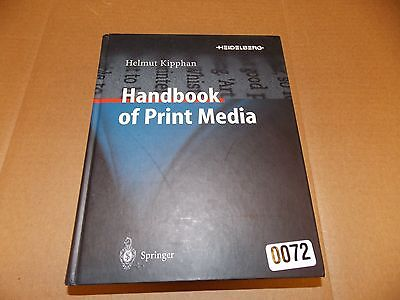 Handbook of Print Media : Technologies and Production Methods (2001, Mixed...