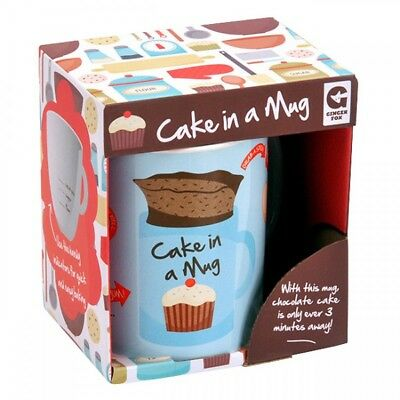 NEW Cake In A Mug Cook in the Microwave Ceramic Cup