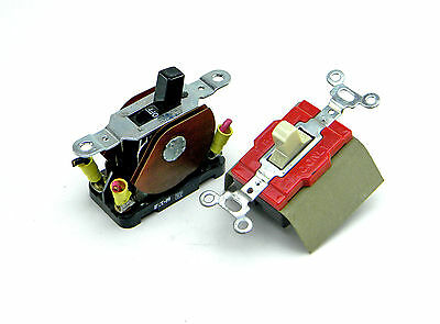 Lot Of 2 Eaton Manual Motor Starter Switches 30A 20A 600 Vac
