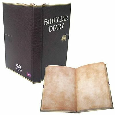 Doctor Who 500 Year Diary FULL SIZED NOT MINI Officially Licensed Bif Bang Pow!