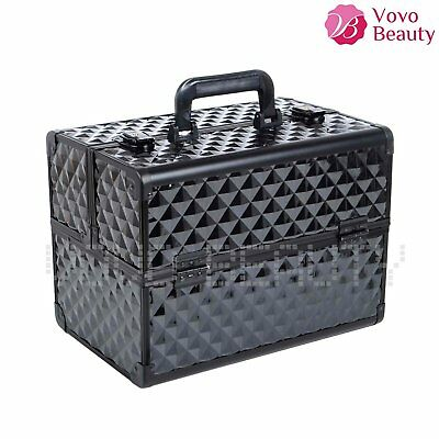 Professional Extra Large Make up Vanity Case Cosmetic Beauty Box Gift Travel New