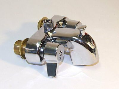 """Tub Faucet Claw Foot Bathroom Toilet Water Shower Center Chrome Plated 3 3/8"""""""