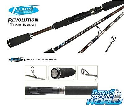 Shimano TCurve Revolution - Travel Inshore Fishing Rod BRAND NEW at Otto's