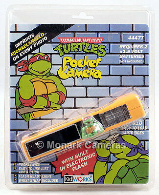 Teenage Mutant HERO Turtles Novelty 110 Camera, Not Ninja in UK. Others Listed.
