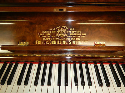 Schilling German  Piano Free Delivery &Tuning to Melbourne metro & surrounds