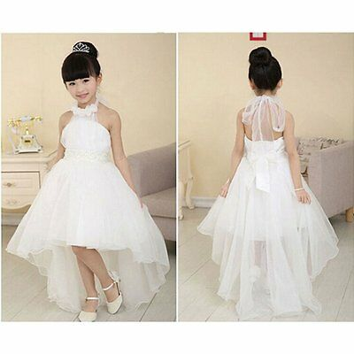 Flower Girls Kids Baby Formal Princess Party Pageant Wedding Tulle Tutu Dresses