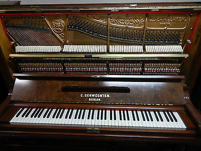 Schwechten German upright Piano Free Delivery &Tuning to Melbourne metro