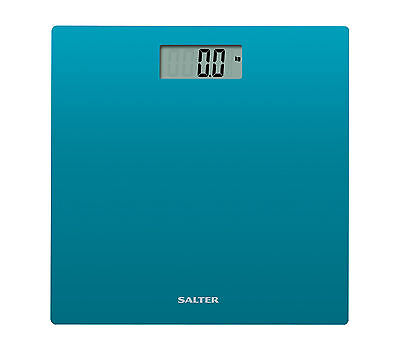 Salter 9069 TL3R Electronic Glass Bathroom Scale - Teal