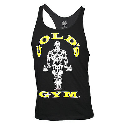 "Gold's Gym Classic Stringer Tank Top ""Gold's Gym""  black schwarz"