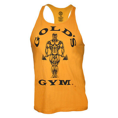 "Gold's Gym Classic Stringer Tank Top ""Gold's Gym""  gold"