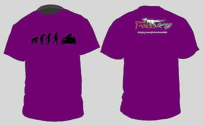 T-Rex Racing Purple Shirt