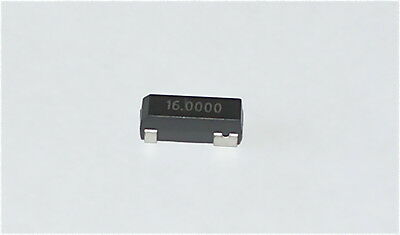 16MHz CRYSTAL SURFACE MOUNT IQD LF A161E 86SMX PACKAGE - 25 PIECES