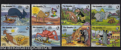 Gambia - 1991 Literacy Year (Just So Stories) - U/M - SG 1184-91 + MS 1192 (4)