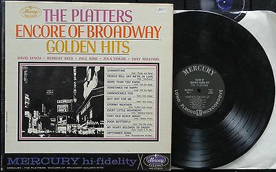 KLP159 - The Platters - Encore of Broadway Golden Hits (MG-20613) US LP