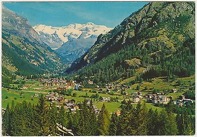 Gressoney St.jean - Panorama (Aosta) 1981