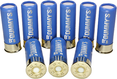 B's Dry Fire Snap Caps® Dummy 12 Gauge Training Rounds 9 X Baby Blue - 12 Ga