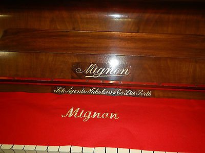 Mignon German upright Piano Free Delivery &Tuning to Melbourne metro