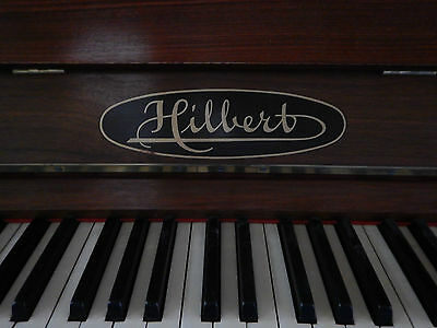 Hilbert upright German Piano Free Delivery & Tuning to Melb metro & surrounds